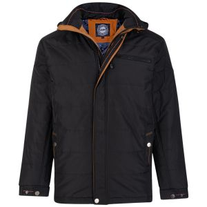 KAM Mens Big Size Quilted Padded Jacket (98)
