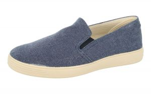 DB's Men's Extra Wide (2V Fit) Casual Slip on Shoes (Miles) in Navy