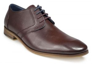 Paul O'Donnell Mens Lace Up Formal Shoe - Atlanta in Bord