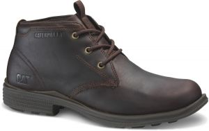 CAT Mens Wide Fit Chukka-Inspired Boots (Grays)