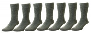 Men's Non-Elastic Softop Thermal Wool Socks (HJ95), Multiple Colour Options