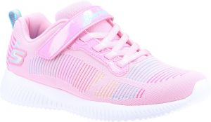 Skechers Bobs Squad Fresh Delight Sports Shoes Childrens Sports in Pink Mesh/Multi Trim