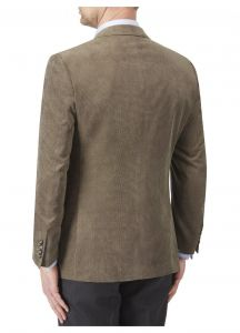 SKOPES Mens Extra Tall Length Soft Touch Tailored Sports Jacket in Coffee Color in Chest Size 44 to 54 Inches