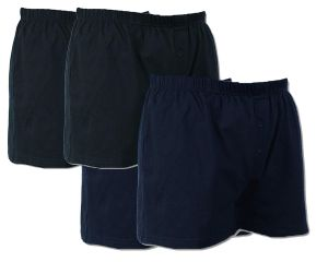 Mens Big Size 4 Pack Button Front Boxer Shorts (U001) By Espionage