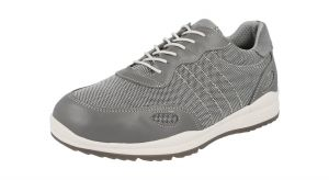 Men'S Casual Shoes (Dawson)6V Wide Fit By Db Shoes in Grey