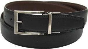 """SOPHOS 30MM REVERSIBLE LEATHER BELT WITH NICKLE BUCKLE WAIST SIZE 32"""" TO 56"""""""