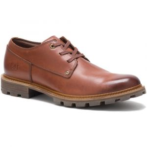CAT Mens Wide Fit Water Proof Sleek Full Grain Robust Leather Shoes (51st Street)