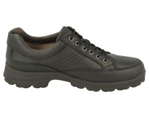 Mens (Istanbul) 6V Wide Fit By Db Shoes in Black W/Proof Nubuck