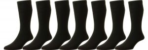 Men's Extra Wide Non-Elastic Softop Wool Socks (HJ190), Multiple Colour Options