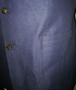Mens Extra Tall Smart Casual Blazer Jacket in Cobalt Blue in Size 42XL to 52XL