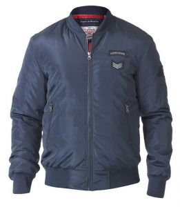 PEDRO-D555 Mens Extra Tall Bomber Jacket With Badges LT to 3XLT