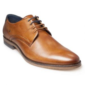 Pod Mens Lace up shoe (Connor) in Cognac