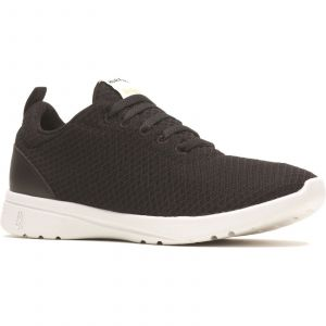 Hush Puppies Good Laces Ladies Shoes in Black