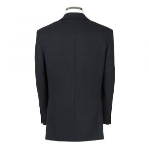 SCOTT Mens Wool Rich Single Breasted Plain Navy Suit Jacket in Chest Size 36 to 60, S/R/L