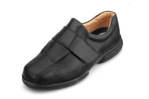 Men'S Casual Shoes (Josh)6V Wide Fit By Db Shoes in Black