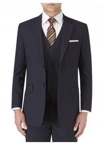 SKOPES Mens Extra Tall Darwin Formal Suit Jacket in Navy