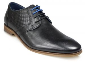 Paul O'Donnell Mens Lace Up Formal Shoe - Atlanta in Black