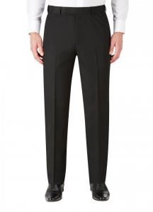 SKOPES Mens Ryedale Formal Trousers in Black