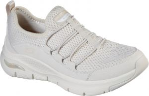Skechers Arch Fit Lucky Thoughts Sports Shoe Ladies Sports in Natural