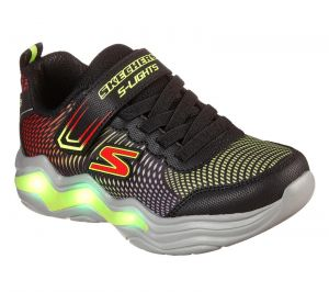 Skechers Erupters Iv Sport Shoes Childrens Sports in Black/Lime