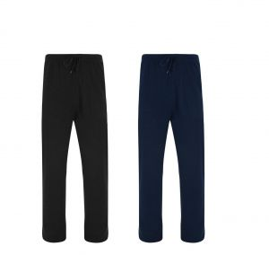KAM Mens Relaxed Fit Fleece Jogging Bottoms (225), 2 Colour Options