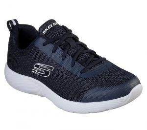 SKECHERS Men's Dyna-Lite-Southacre Comfort Training And Walking Sneakers in Navy