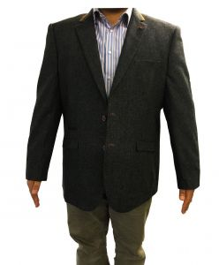 "Mens Smart Formal Semi Fitted Sports Jacket ""Neston"" In Chest Size 50 to 62 S/R"